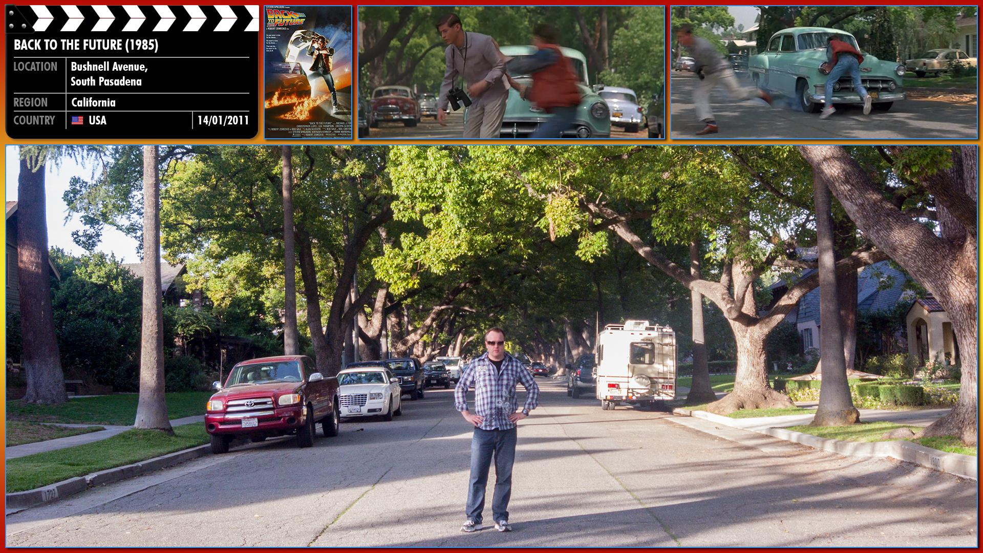 Filming location photo for Back to the Future (1985) 2 of 13