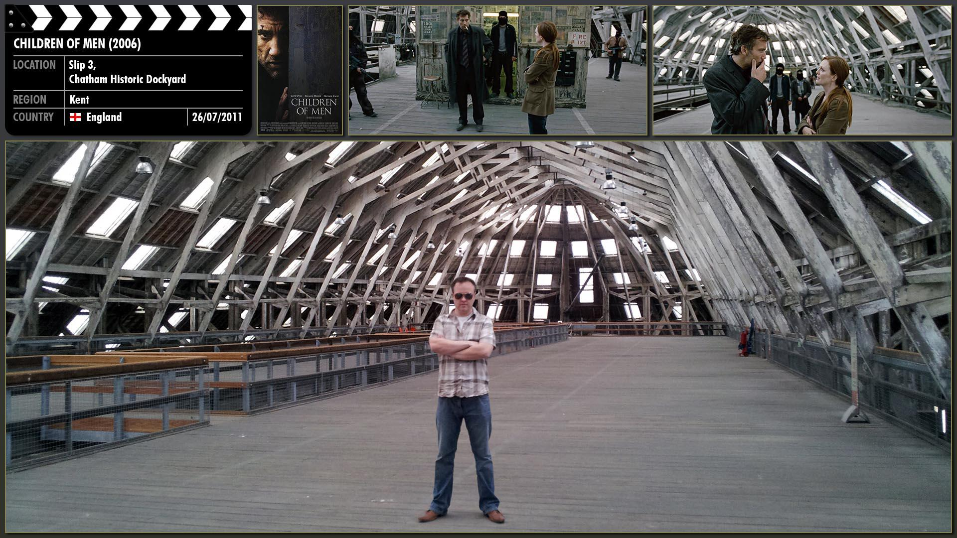 Filming location photo for Children of Men (2006) 1 of 1