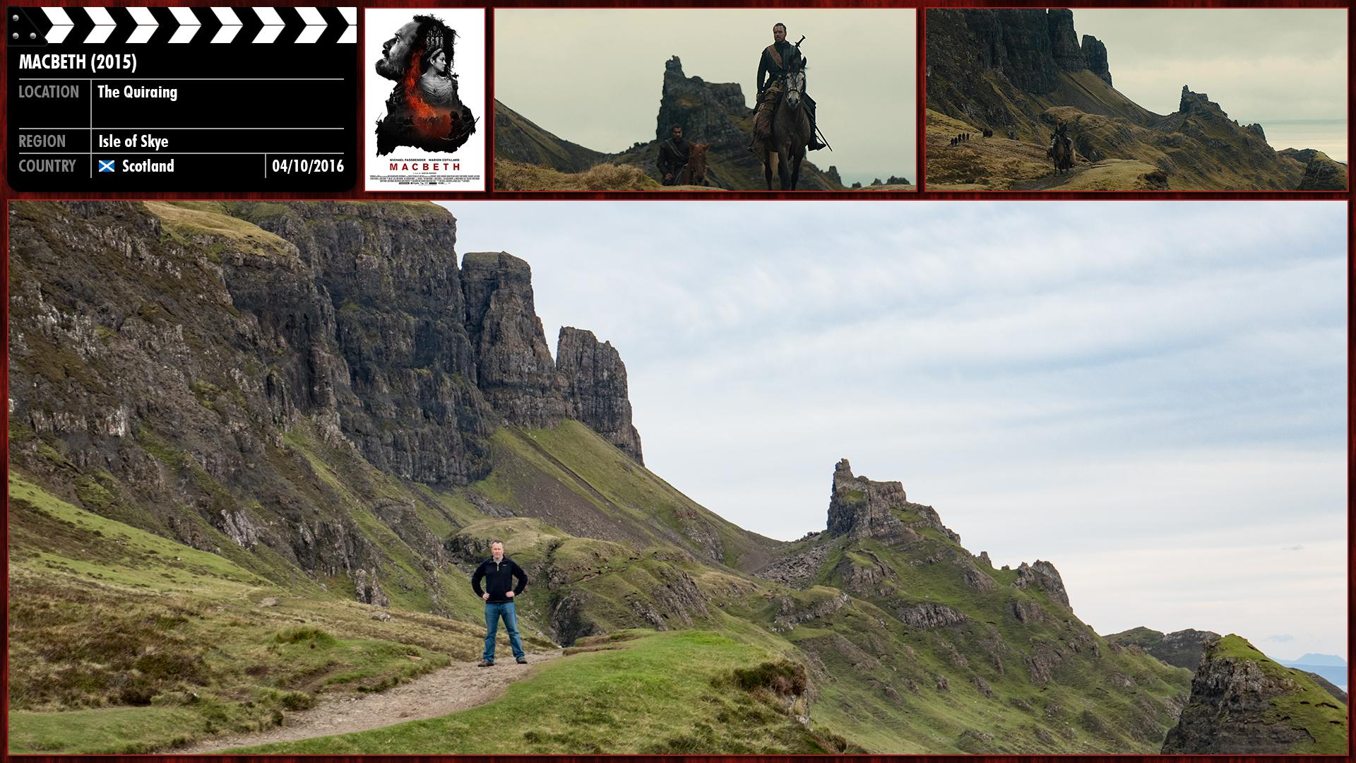 Filming location photo for Macbeth (2015) 2 of 2
