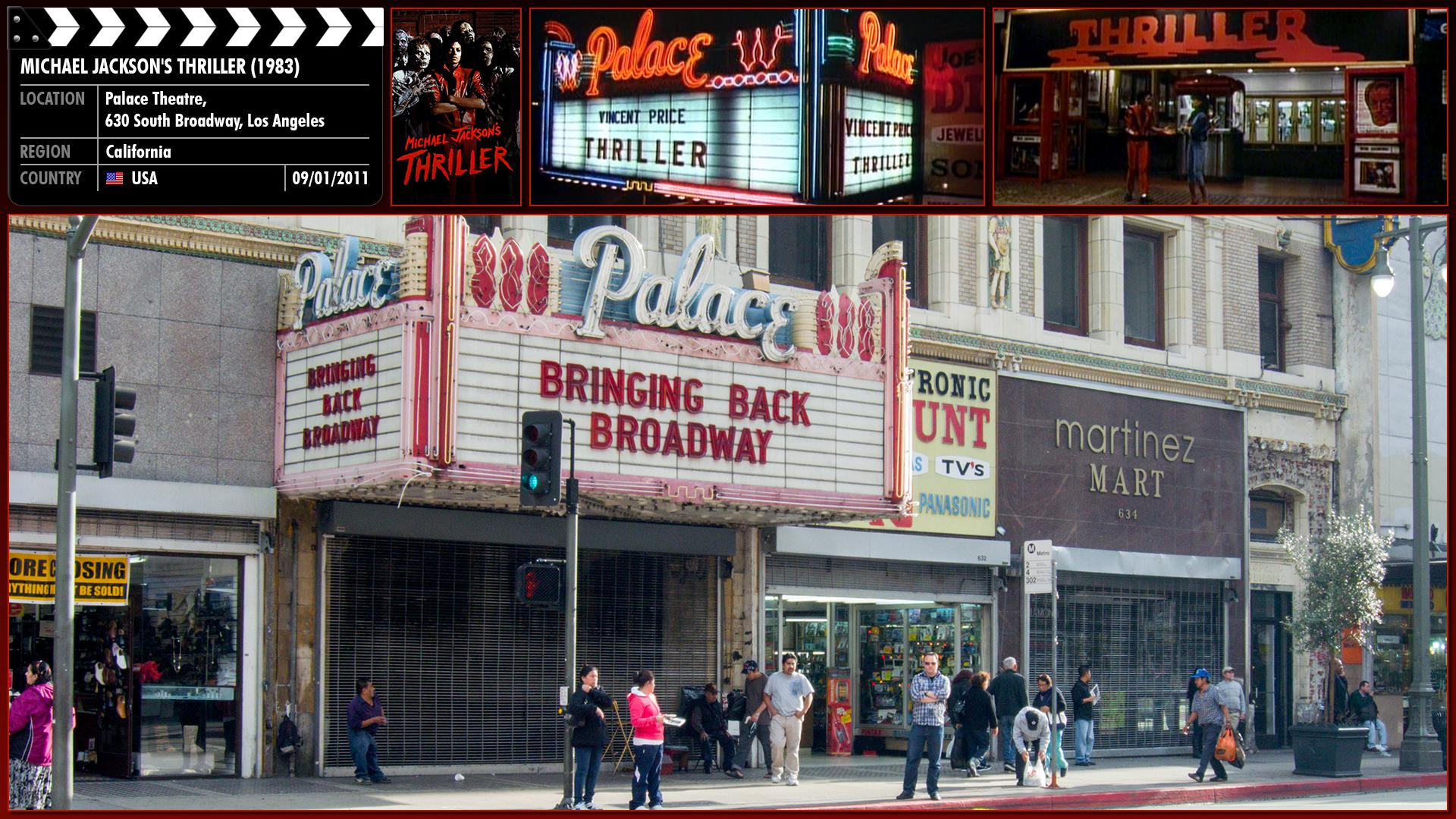 Filming location photo for Michael Jackson's Thriller (1983) 2 of 3