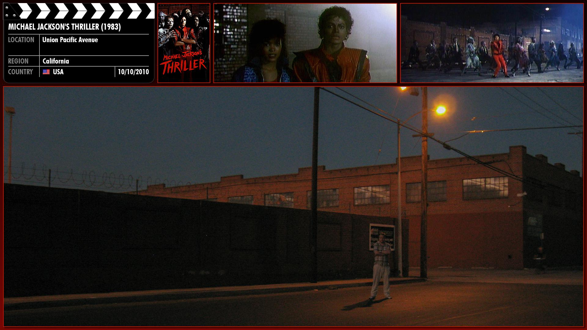 Filming location photo for Michael Jackson's Thriller (1983) 3 of 3