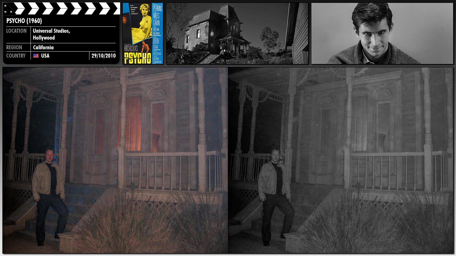 Filming location photo for Psycho (1960) 1 of 1