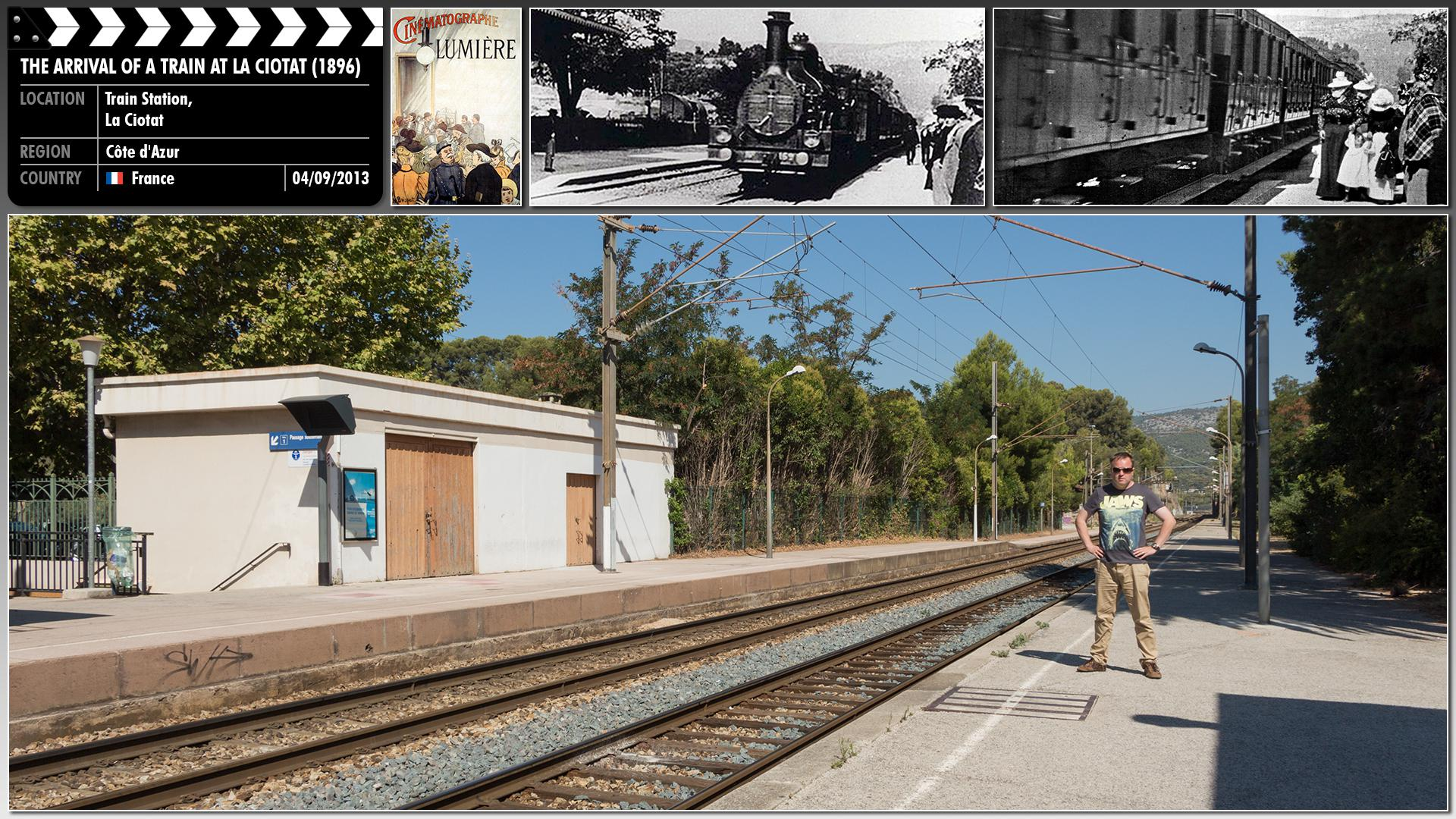 Filming location photo for The Arrival of a Train at La Ciotat (1896) 1 of 1