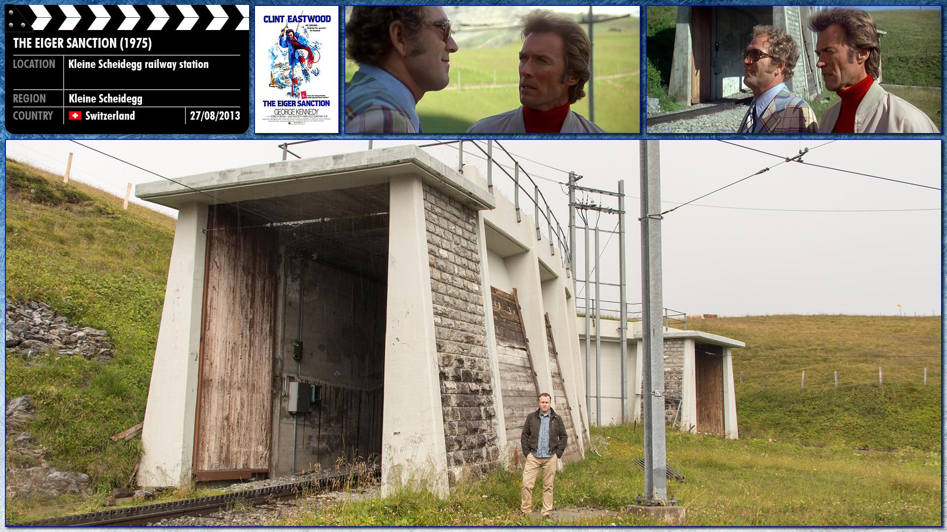 Filming location photo for The Eiger Sanction (1975) 2 of 2