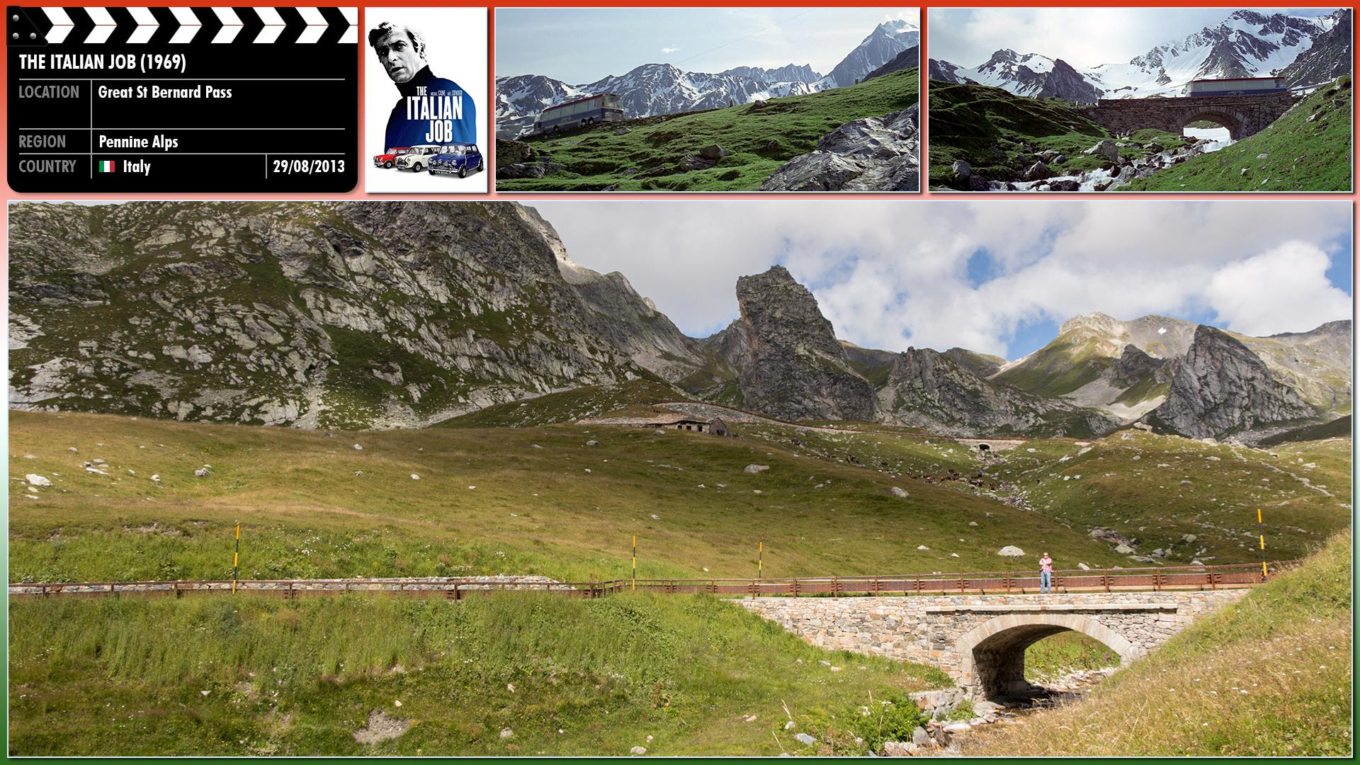 Filming location photo for The Italian Job (1969) 9 of 26