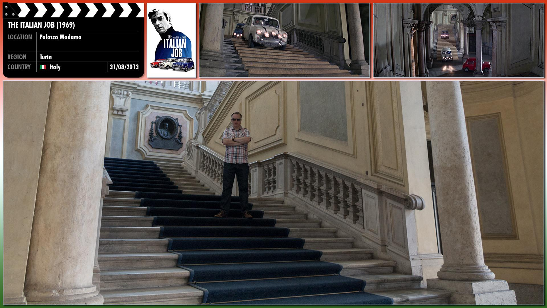 Filming location photo for The Italian Job (1969) 22 of 26