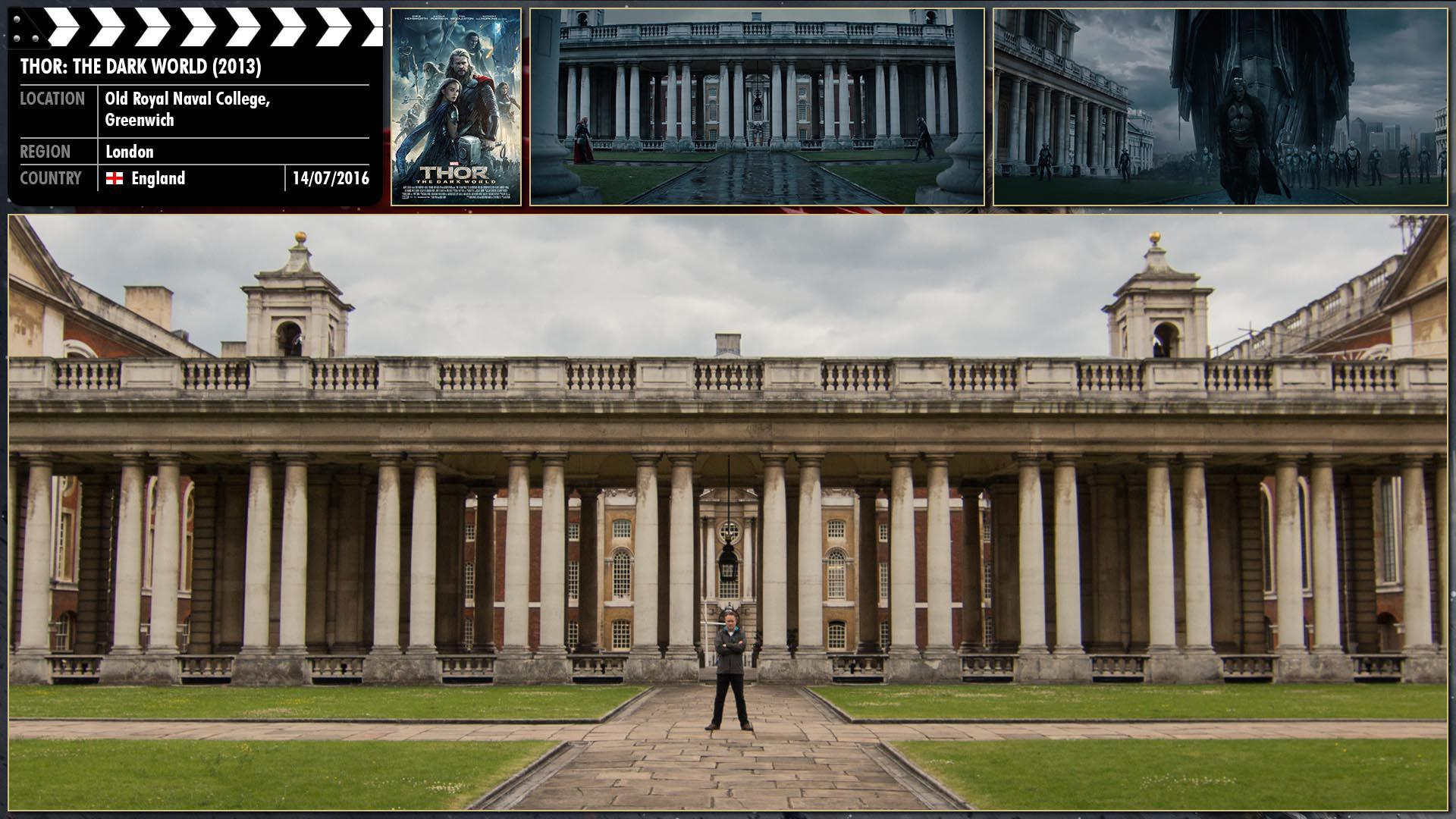 Filming location photo for Thor: The Dark World (2013) 1 of 2