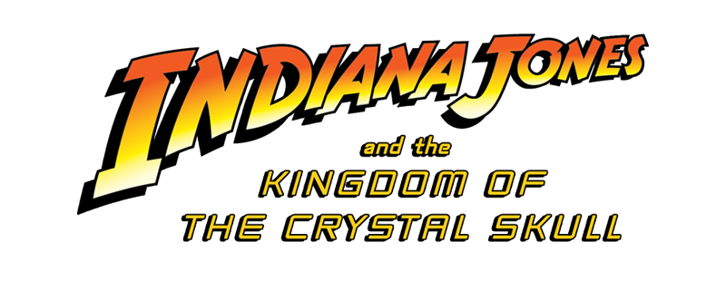 Logo for Indiana Jones and the Kingdom of the Crystal Skull (2008)