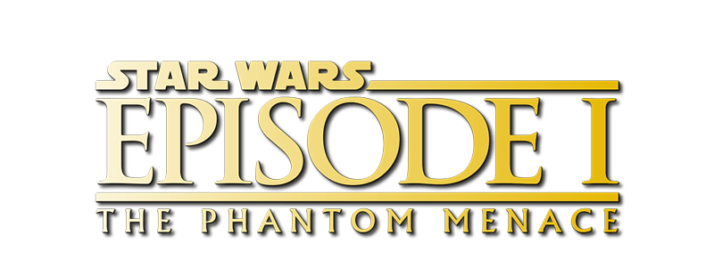 Logo for Star Wars: The Phantom Menace (1999)